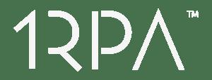 1RPA White Logo
